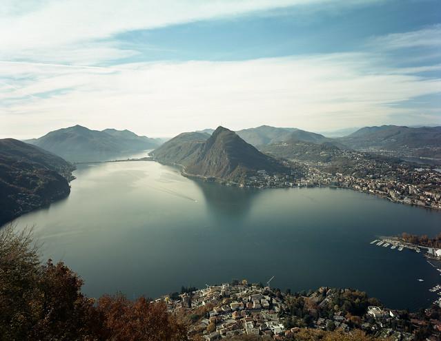 Lago di Lugano, Monte San Salvatore