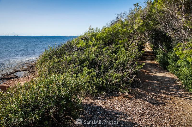 Camino de Ronda en dirección a Els Bufadors