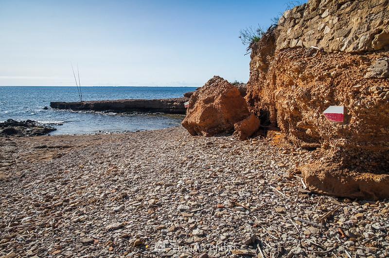 Camino de Ronda entre El Molar y Els Bufadors