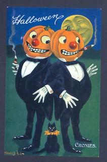 WALL, Bernhardt.  Halloween Cronies, c. 1910s.