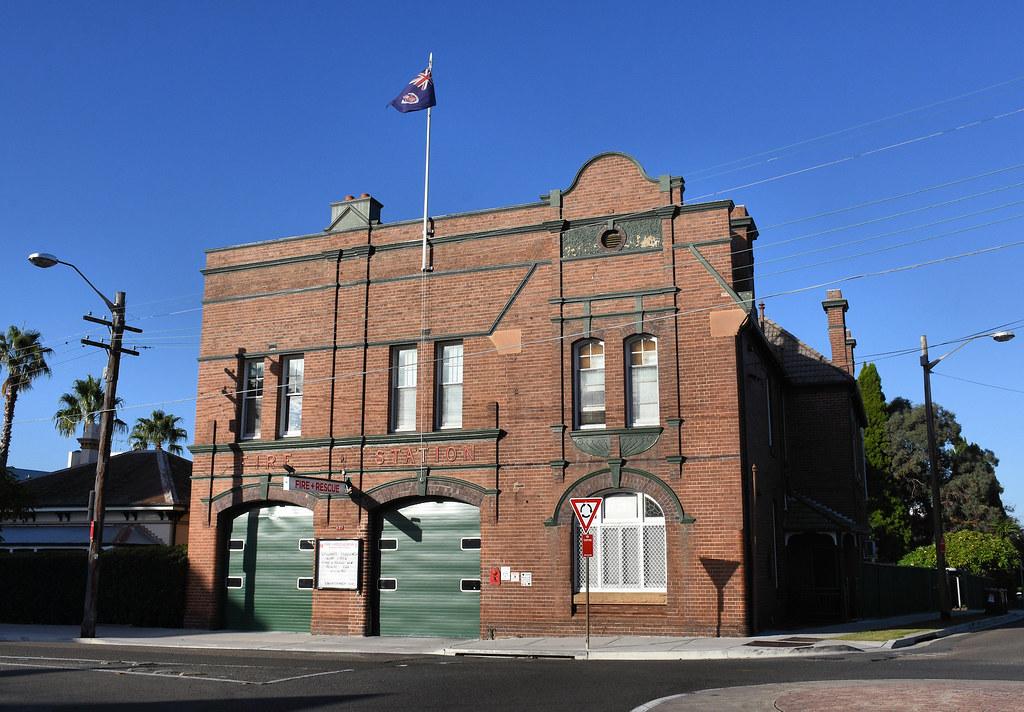 Fire Station, Ashfield, Sydney, NSW.