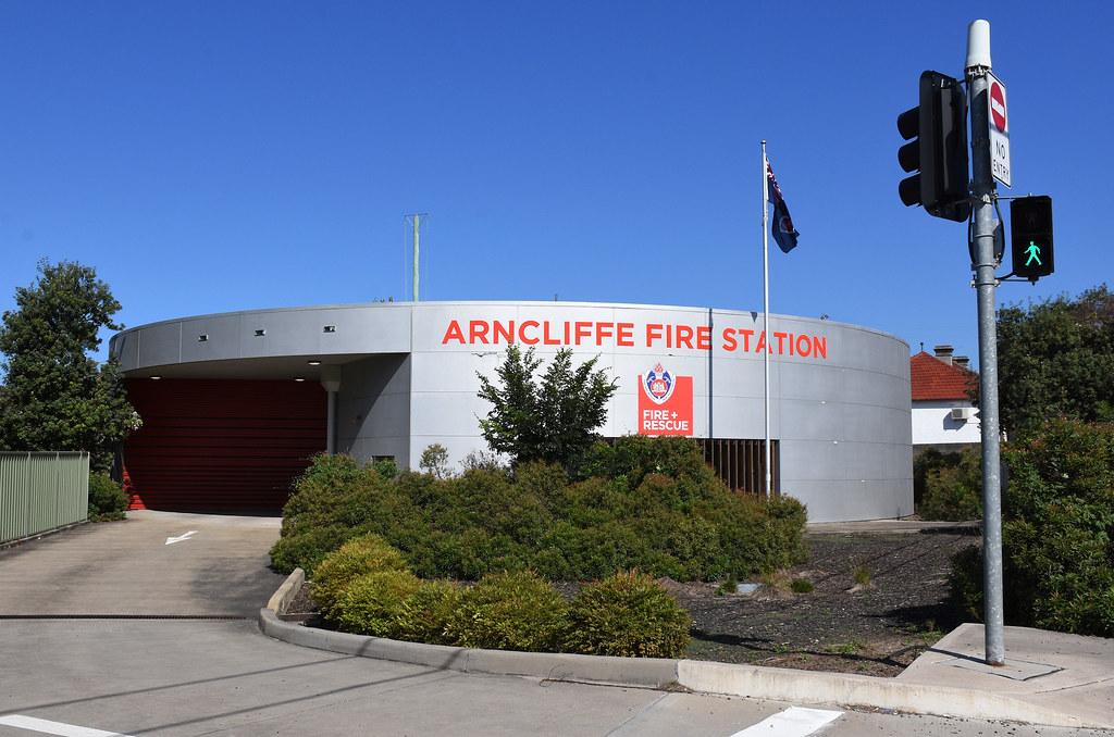 Fire Station, Arncliffe, Sydney, NSW.