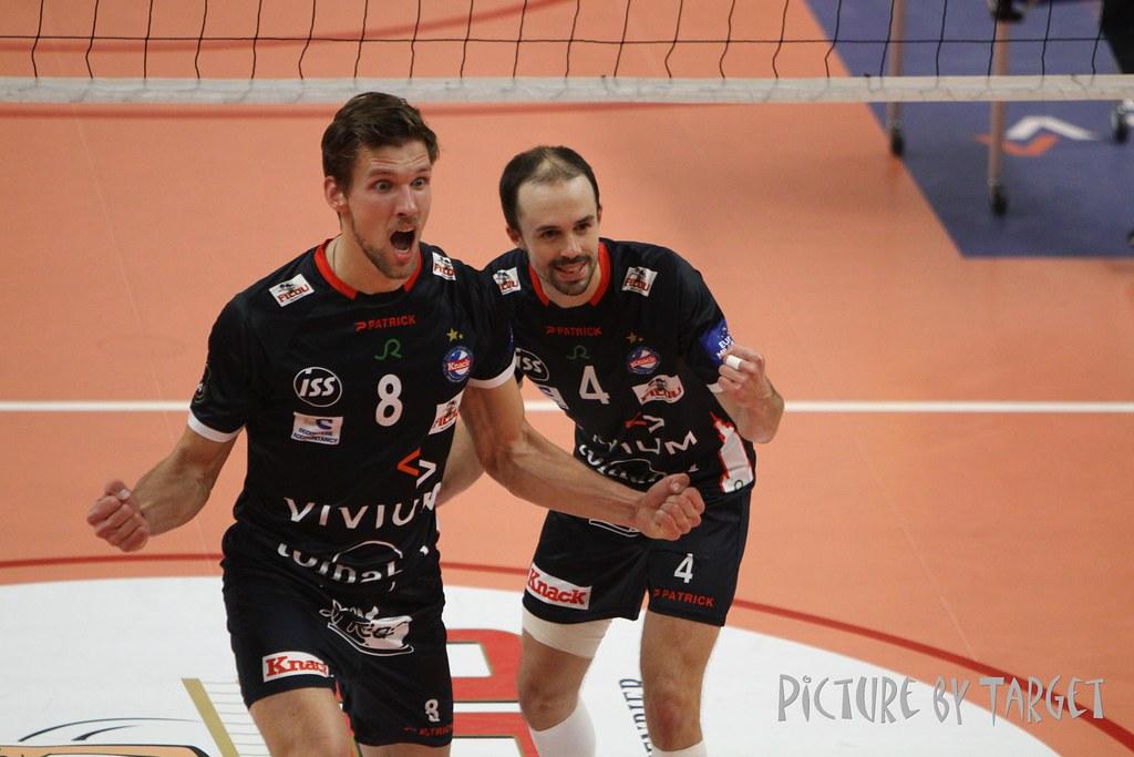 Knack Volley Roeselare - Greenyard Maaseik (3-2)