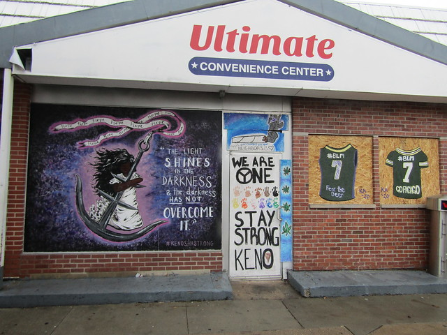 Ultimate Convenience store - finished murals