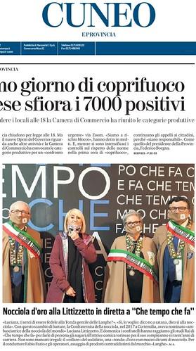 20201025_A Che Tempo che Fa Nocciola d'Oro a Luciana Litizzetto per I 30 Anni di Carriera