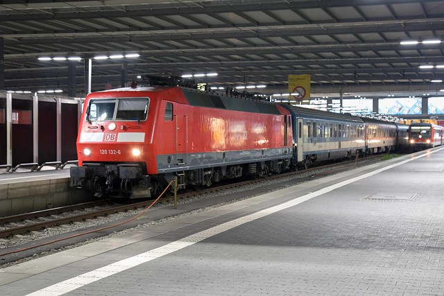 DB 120 132 München Hbf