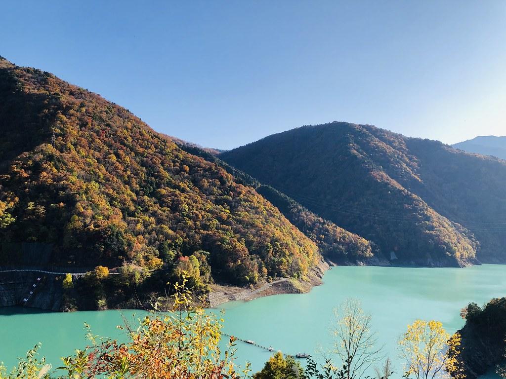 紅葉:竜神湖
