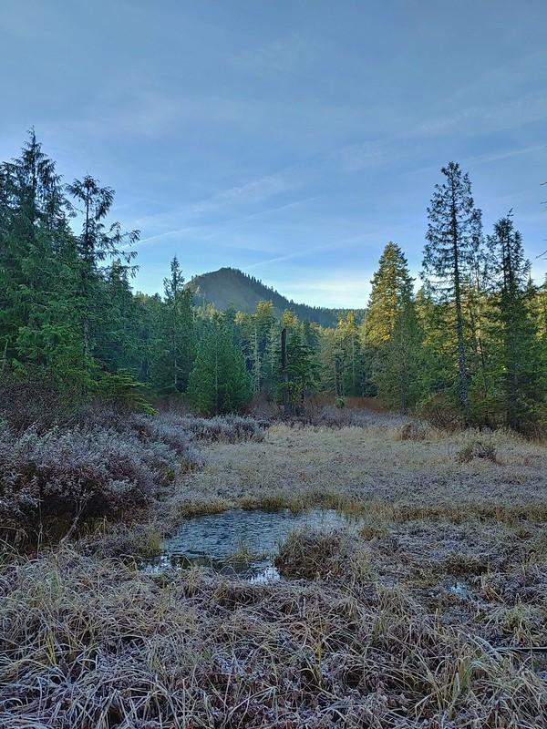 Larch Mountain from Multnomah Basin