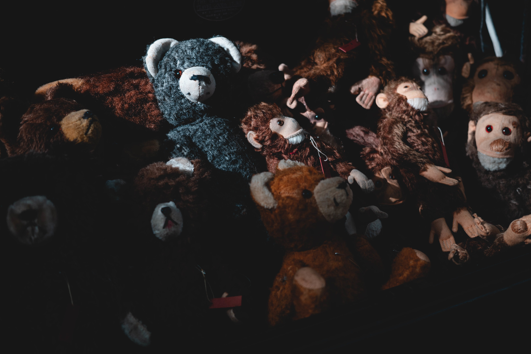 old stuffed animals