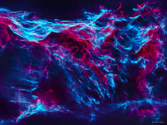 Pickering's Triangle Supernova Remnant