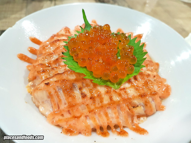eatomo food company salmon mentaiko