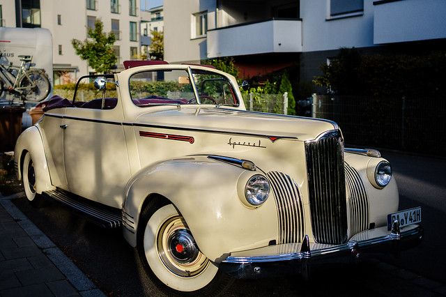 1942 Packard Special coupé convertible
