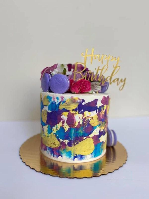 Cake by Bleu Bear Bakery