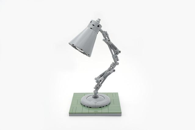 Lego desk lamp - atana studio