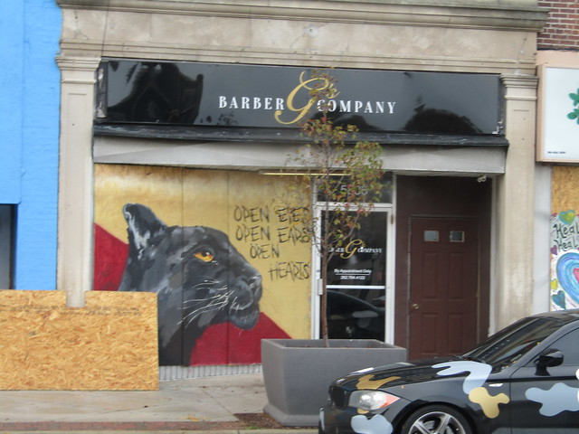 Barber G & Company - a completely different mural