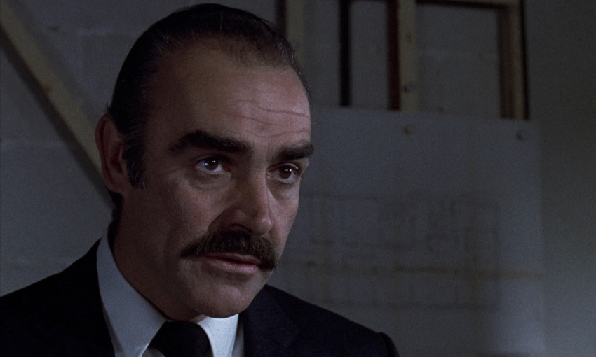 Sean Connery dans The Offence (Sidney Lumet, 1972)