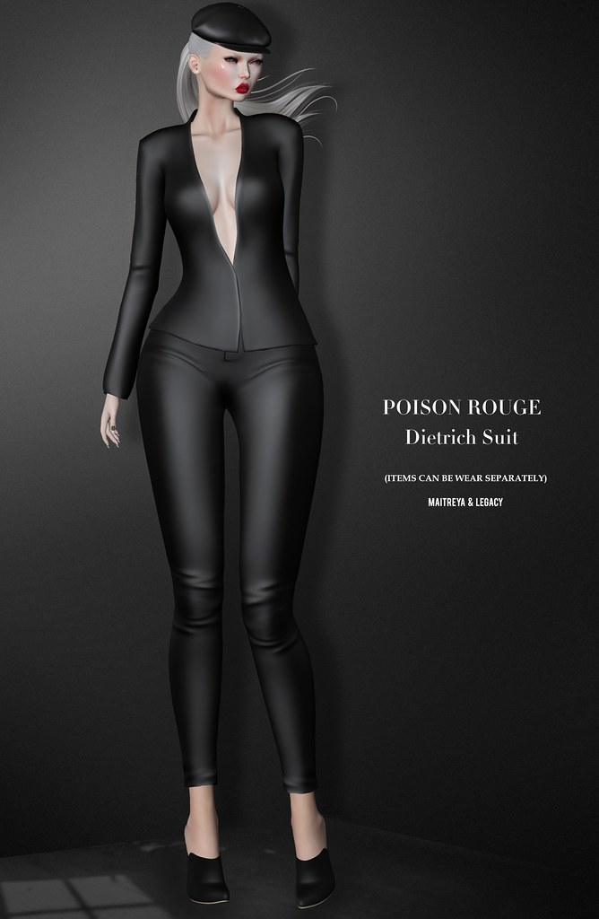 POISON ROUGE Dietrich Suit & Greta Cap @GALA Fair by Tres Chic