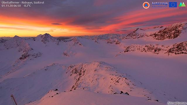 Sonnenaufgang Alpen 001