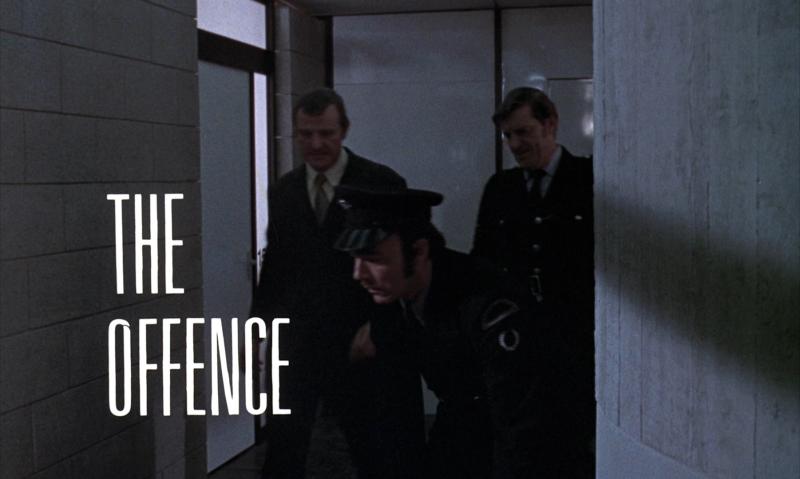 Image titre du film The Offence (Sidney Lumet, 1972)