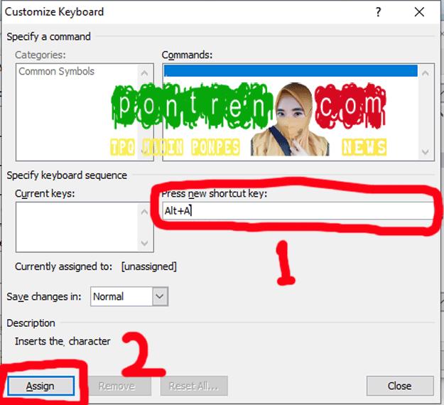 menambahkan-shortcut-pada-word-office