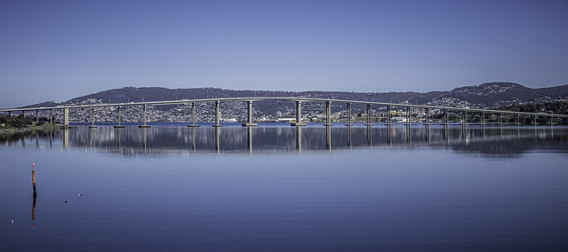 The Tasman Bridge, Lindisfarne, Tasmania