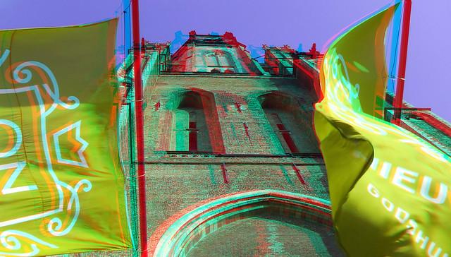 Toren Nieuw-kerk Delft 3D