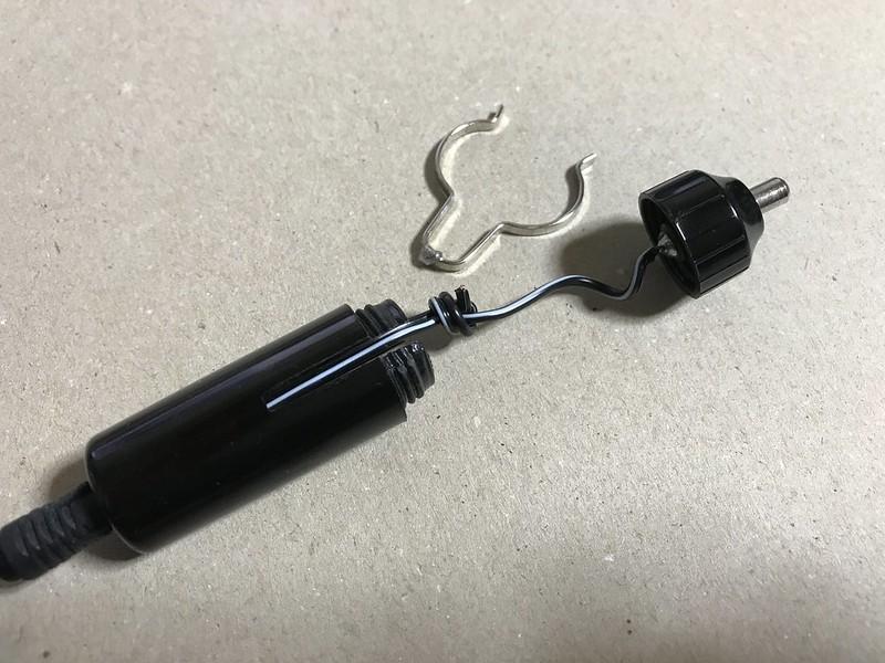 ビクセンSX系赤道儀用シガーソケット電源ケーブルが壊れた