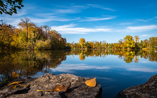Autumn lake | by holgerreinert