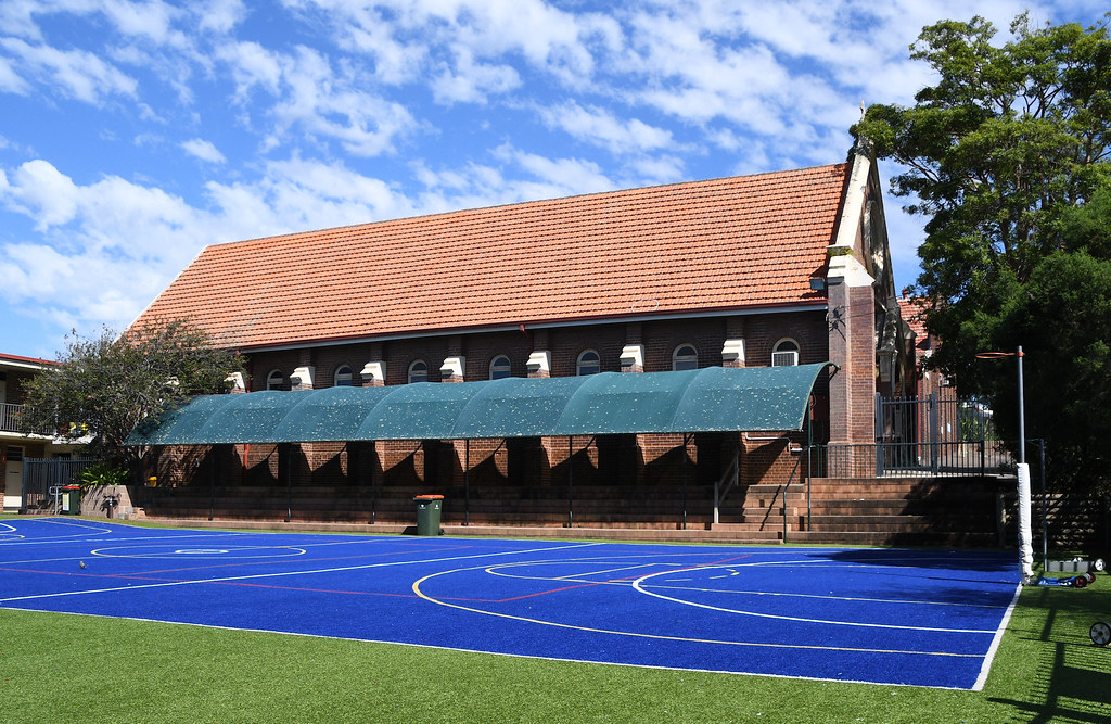 The Catholic Church of St Kevin, Eastwood, Sydney, NSW.