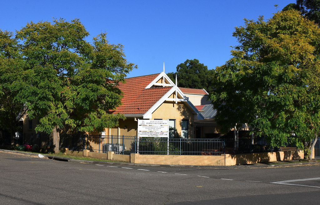 Sydney B-P Church, Gladesville, Sydney, NSW.