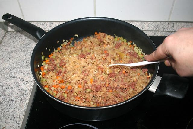 26 - Braise sauerkraut / Sauerkraut andünsten