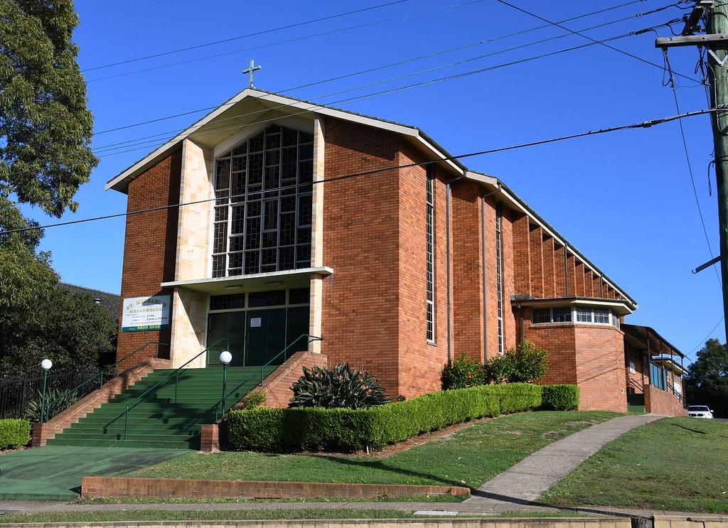 St Michael's Catholic Church, West Ryde, Sydney, NSW.