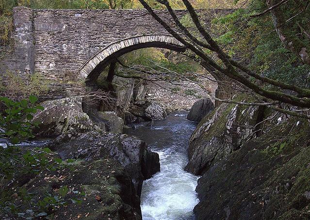 Cyfyng Falls and Rapids Afon Llugwy (River Llugwy) (2 of 4) Pont Cyfyng Near Capel Curig, Conwy, North Wales - 15.10.2020 - | In Explore 1.11.2020 | Thank you all!!