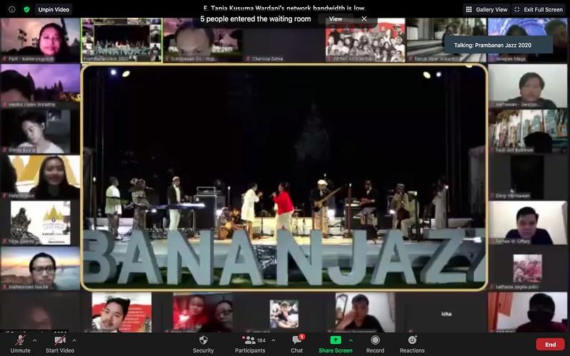 Prambanan Jazz 2020 Sinten Remen 11