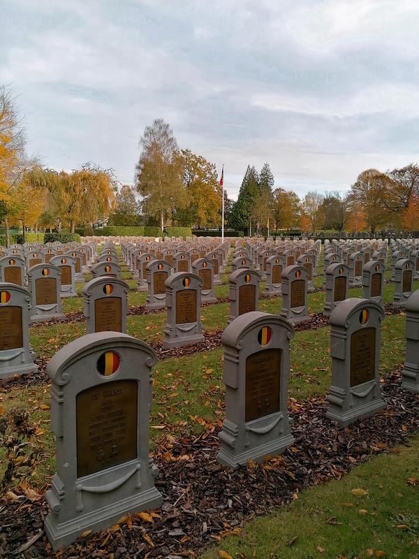 Tumbas de soldados de la Primera Guerra Mundial