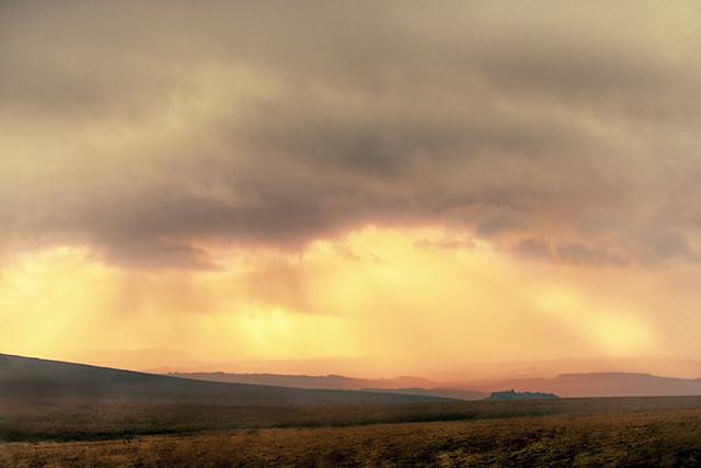 Moorland Sunset.