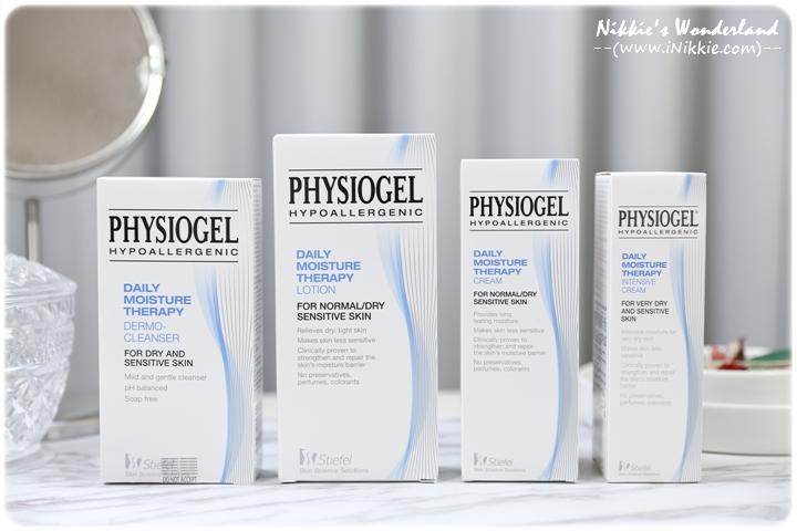 Physiogel 潔美淨 層脂質保濕修護系列