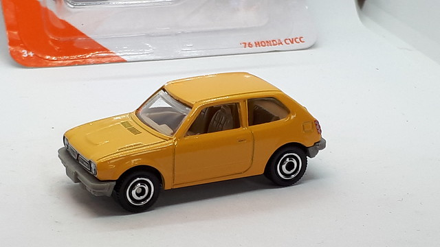 MATCHBOX 1976 HONDA CIVIC CVCC NO9 1/64