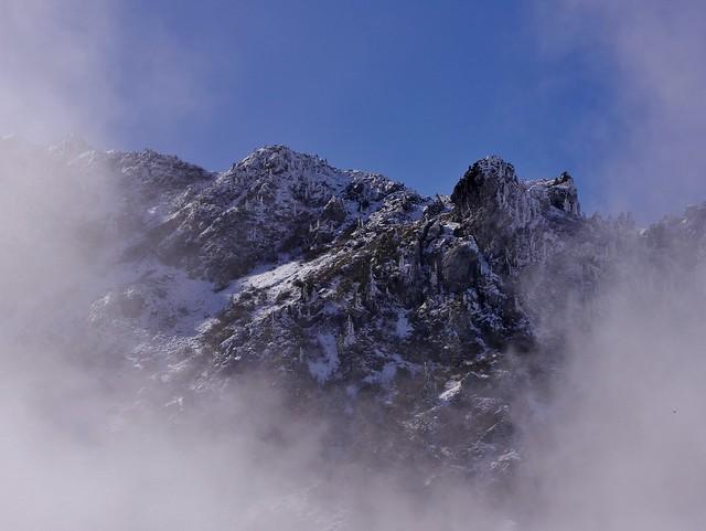 Vague de coton sur les sommets