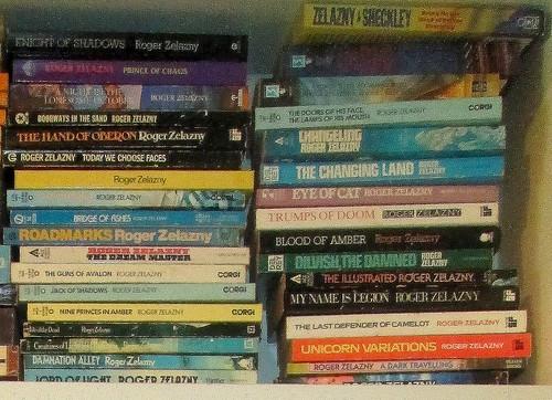 ZelaznySF Books