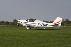 G-JHKP Europa XS [PFA 247-13828] Sywell 010918