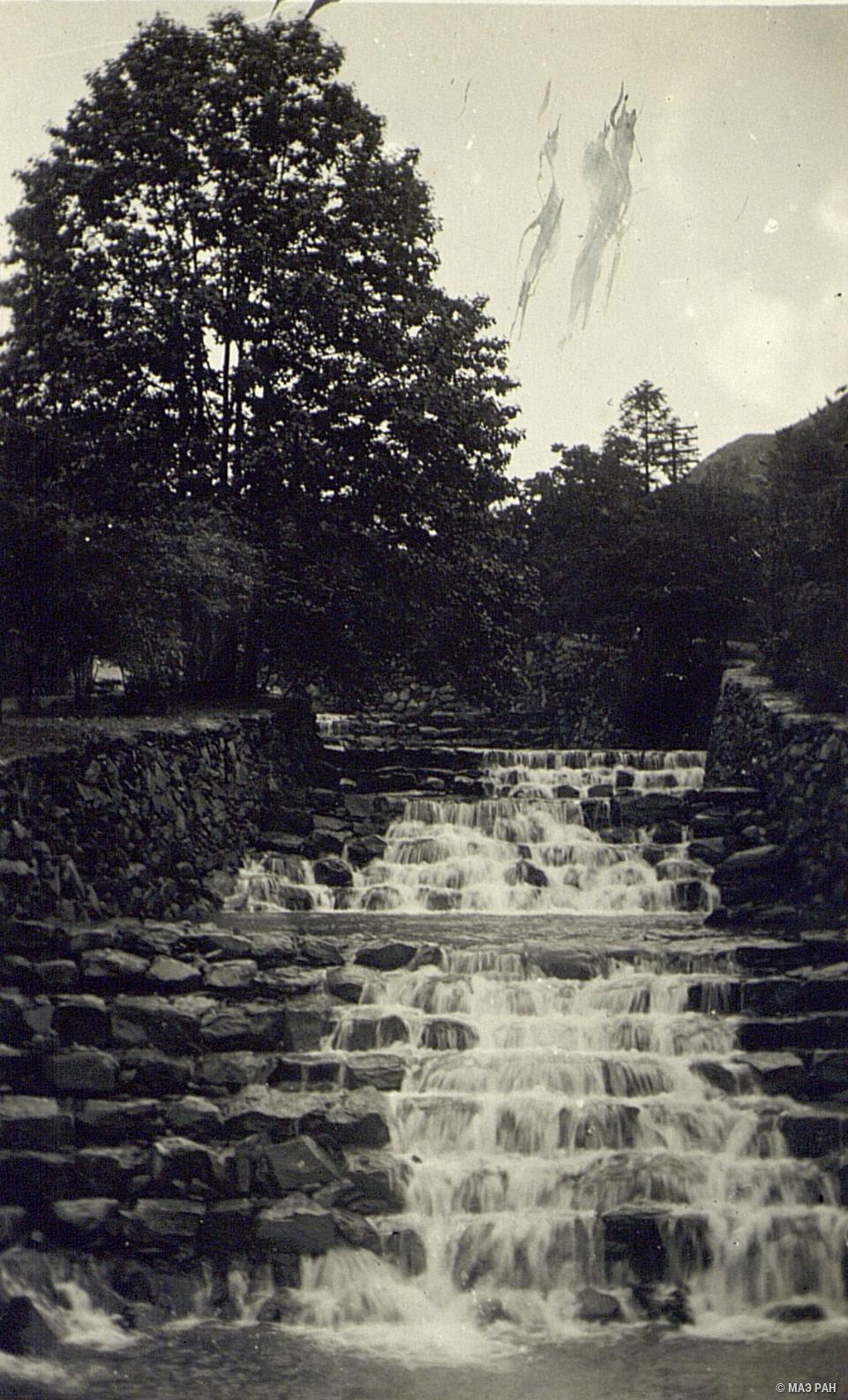 Водопад в Гулине