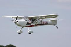 G-EFCG Aeropro Eurofox [LAA 323-15093] Sywell 010918