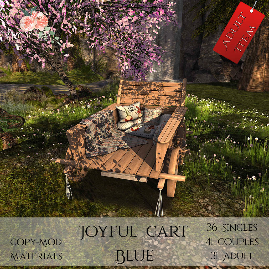 Bloom! – Joyful Cart Blue A AD