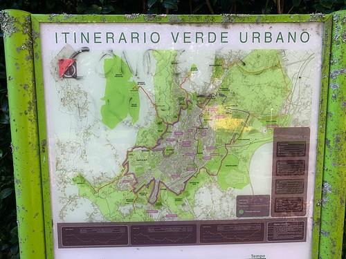 Mapa itinerario verde urbán