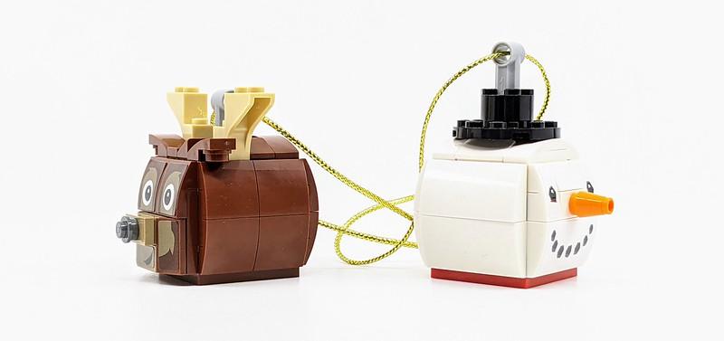 LEGO Christmas Duo