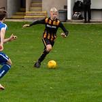 Matthew Begg on the ball