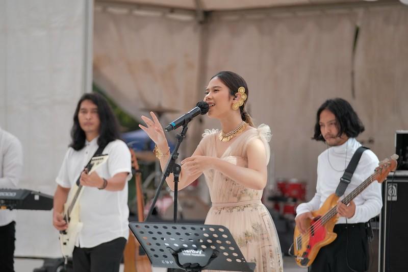 Prambanan Jazz 2020 Nadin Amizah 5