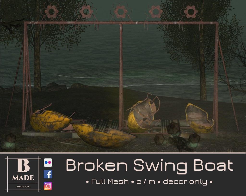Broken Swing Boat @ Cosmopolitan on 02th November