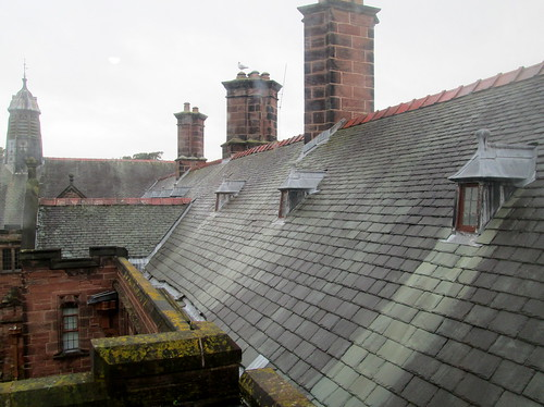 Gable Roofs, Gladstone's Library, Hawarden